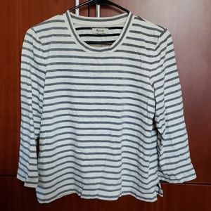 Madewell Med striped top